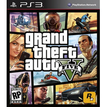 Grand Theft Auto V Ps3 (gta)