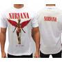 Camiseta Especial- Nirvana- In Utero- Tamanho G