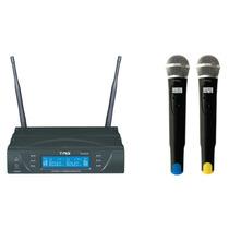 Microfone Duplo Tm 8034 Sem Fio(by Tagima) Tag Sound