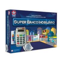 Brinquedo Super Banco Imobiliário Com Máquina De Cartão