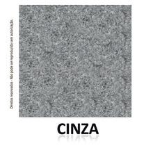 Carpete Cinza Cores Forração Casa Escritório Chão