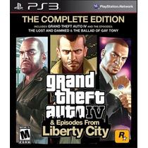 Gta 4 Iv Ps3 - Complete Edition - 3 Jogos - Frete R$ 10,00