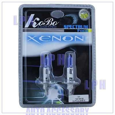 Lampada Super Branca Tipo Xenon 5500k H1 H3 H4 H7 Brinde