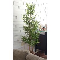 Planta Artificia/arranjo/arvore Bambu 3 Hastes 1,70mt Altura