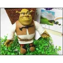 Boneco Shrek Pelúcia Pvc 21cm - Fiona Gato De Botas Pinóquio