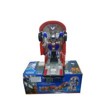 Carrinho Vira Robô Emite Luz Som Transformers Frete Grátis