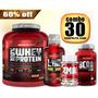 Whey Kit Suplementos Musculares- Secar E Crescer Body Action