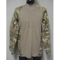 Camisao Tatico Camuflagem Multicam Massif Us Original Medio