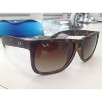 Oculos Solar Ray Ban Rb 4165 Justin 710/13 Made In Italy