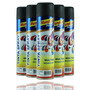 Tinta Spray Mundial Prime Preto Fosco 400ml