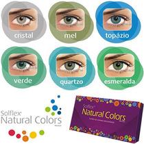 Lentes De Contato Solflex Natural Colors Frete Gratis