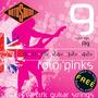 Encordoamento Rotosound Guitarra 0.09 Roto Pinks R9