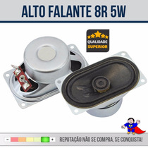 Alto Falante - Tv - 1 1/2 X 2 3/4 - 8r - 5w - 001-5032 100%
