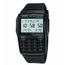 Relógio Casio Masculino Data Bank Calculadora Dbc-32-1adf.