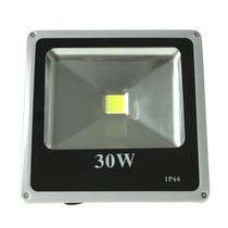 Refletor Holofote Led Fachada Branco Frio 30w