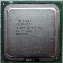 Intel Celeron Sl7tm 2.66ghz 256k 533mhz Socket 775
