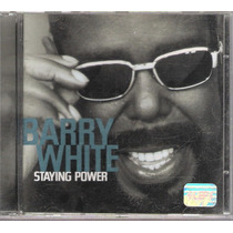 Cd Barry White - Staying Power - Importado