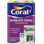 Tinta Coral Acrilico Total Premium Cor Branca 18 L