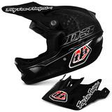 Capacete-Bike-Troy-Lee-D3-Carbono-Helmet-Preto-Downhill