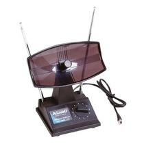 Antena Interna Tv Com Seletor Uhf/vhf/fm Tv350 #novo