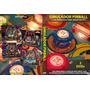 Simulador De Máquinas Pinball Pc + De 1000 Máquinas - 2 Dvd