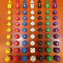 Dungeons And Dragons Jogo Rpg Jogo De Dados 10 Pçs/kit