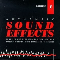 Cd Authentic Sound Effects Volume 1 (importado)