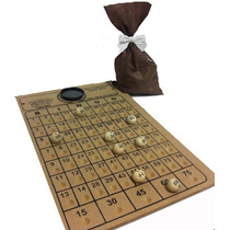Bingo/víspora Nº 3 Tabuleiro+bolas (1 A 75) Saco P/sorteio