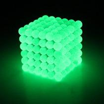 216 Esferas Neocube Neodímio 5mm Brilha No Escuro Novidade