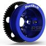 Kit Roda Fônica Fueltech Vw 60-2 Poli-v Para Ap 16v - Azul