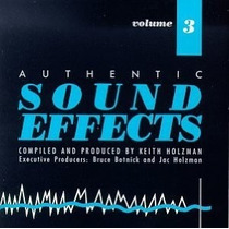 Cd Authentic Sound Effects Volume 3 (importado)