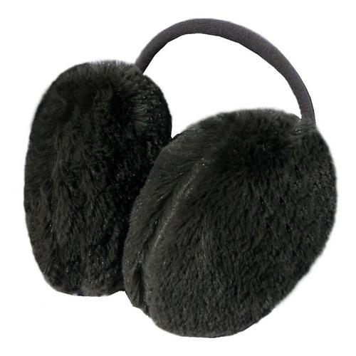 36e203edb46a9 Earmuff Felpudo Preto Inverno Protetor Aquecedor De Orelhas