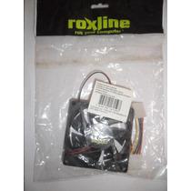 Cooler Fan 80mm 12v Roxline Conec. 4 Pinos Atx