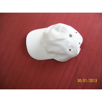 Chapeu Bone Homen Mulher Unissex Cobre Cabeça Couro Branco