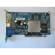 Placa Video 256 Agp Gigabyte Gv-r955256d Dvi-i/d-sub/tv-out