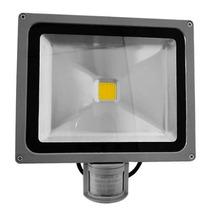 Refletor Led 30w Holofote Com Sensor De Presença Bivolt