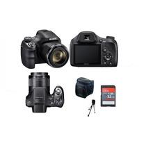 Câmera Sony Dsc-h400 +32gb/cl10,bolsa+tripe.em Estoque