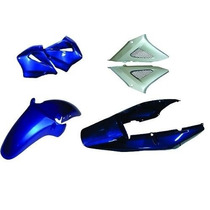 Carenagem Kit Completo Cbx 250 Twister Azul 2001/2002