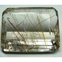 Rutilo Fios Dourados Gema Rara 100%natural Grande 36,00cts