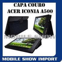 Capa Couro Executiva Tablet Acer Iconia A500 10.1