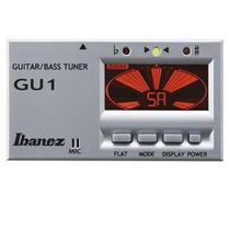 Afinador Cromático Ibanez Gu1 Display De Lcd 440 Hz Prata