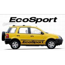 Kit Faixas Adesivos Ford Ecosport Eco010 - 3m - Decalx