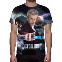 Camisa, Camiseta Série Doctor Who 9ª Temporada