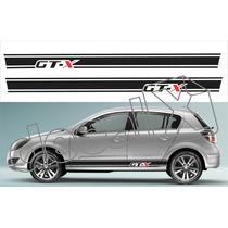 Kit Faixa Adesivos Chevrolet Vectra Gtx Gtx004 - 3m - Decalx