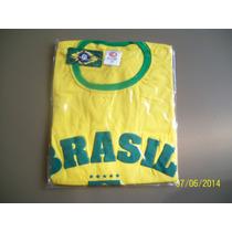 Camisa Verde Amarela Promoção Copa 2014 Brasil