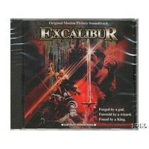 Excalibur Cd Raro Esgotado Trilha Sonora Original Do Filme