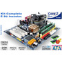 Kit Lga 775 Completo: Core 2 Duo + Placa + Memória + Cooler