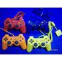 Lindo Controle Playstation Ps2 Coloridos Feir Novos Testados