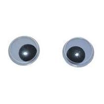 Olhos Articulados Para Artesanato. 22mm. Kits Com 250 Pçs.