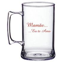 Caneca Acrilica 300ml Dia Das Mães 50 Unidades